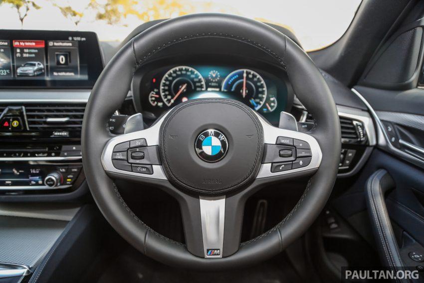 新车试驾: BMW 530e M Sport, 外观升级价格依然合理 Image #116611