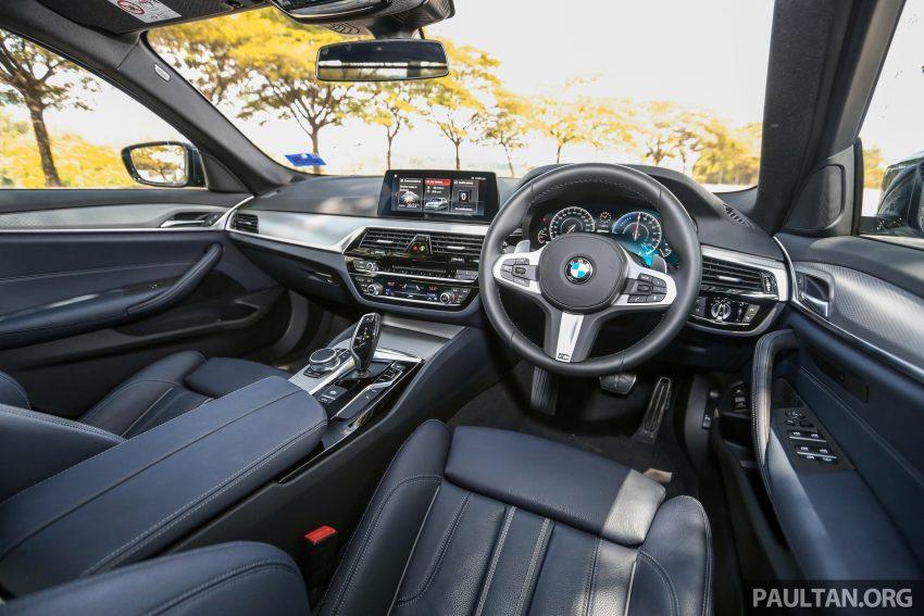 新车试驾: BMW 530e M Sport, 外观升级价格依然合理 Image #116638