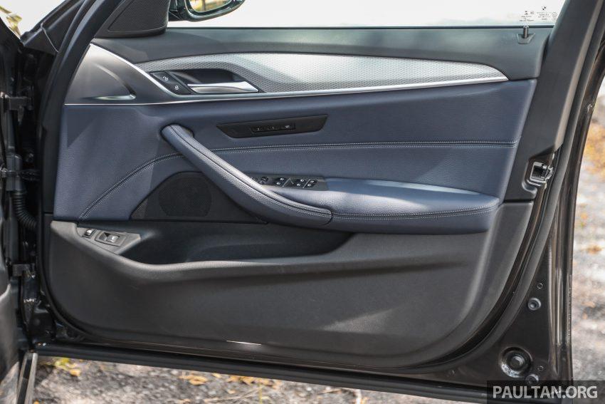 新车试驾: BMW 530e M Sport, 外观升级价格依然合理 Image #116641