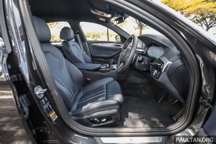 新车试驾: BMW 530e M Sport, 外观升级价格依然合理 Image #116643