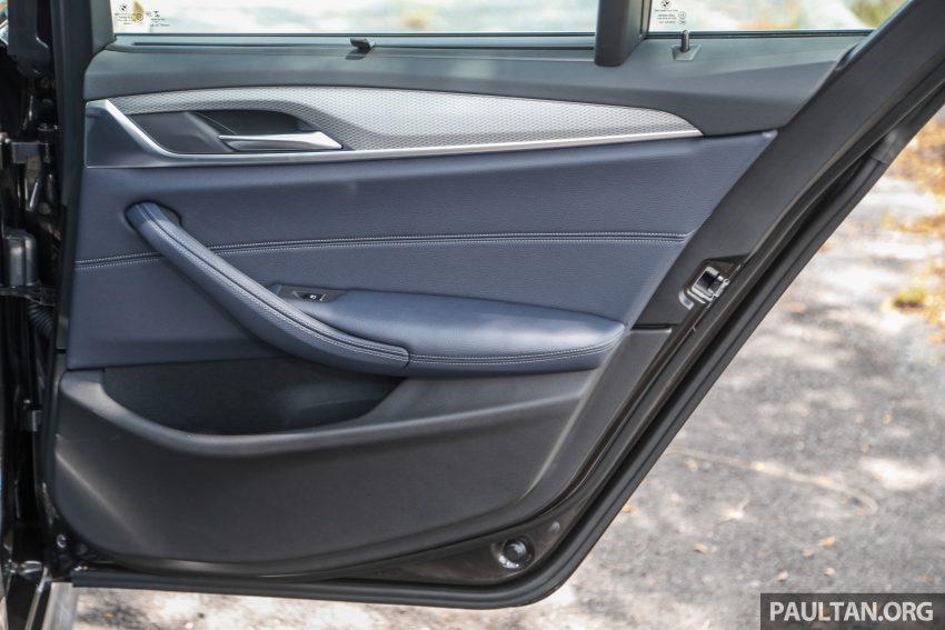 新车试驾: BMW 530e M Sport, 外观升级价格依然合理 Image #116649