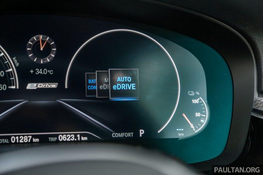 新车试驾: BMW 530e M Sport, 外观升级价格依然合理 Image #116616