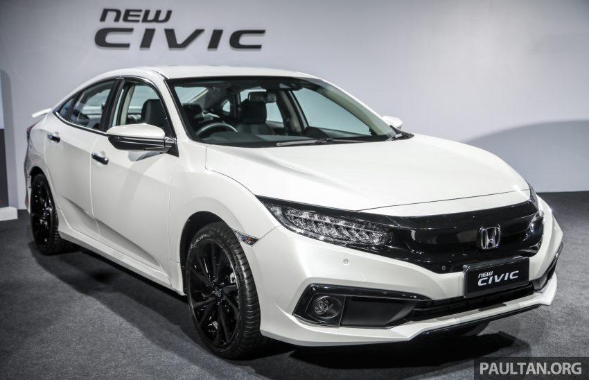 十代 Honda Civic 小改款本地价格正式公布, 从11.4万起 Image #117258