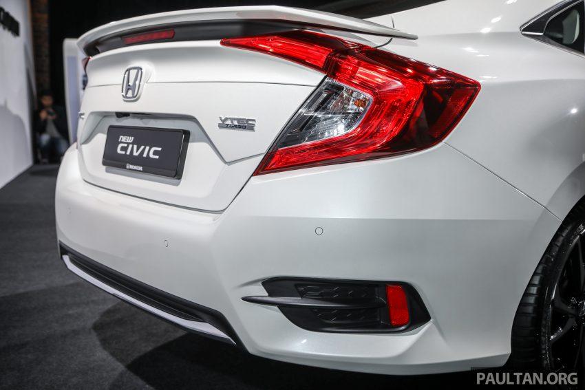 十代 Honda Civic 小改款本地价格正式公布, 从11.4万起 Image #117270