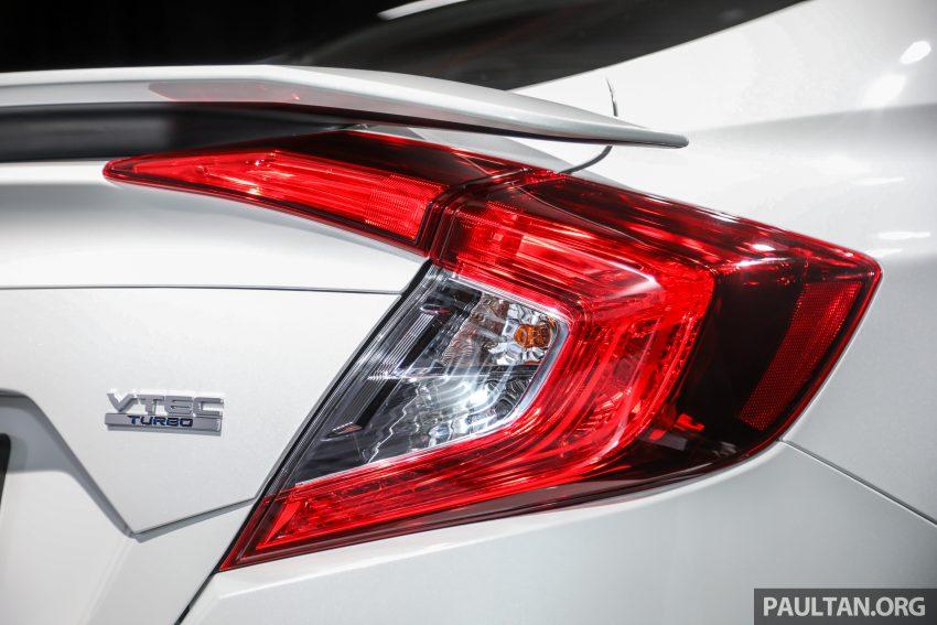 十代 Honda Civic 小改款本地价格正式公布, 从11.4万起 Image #117271