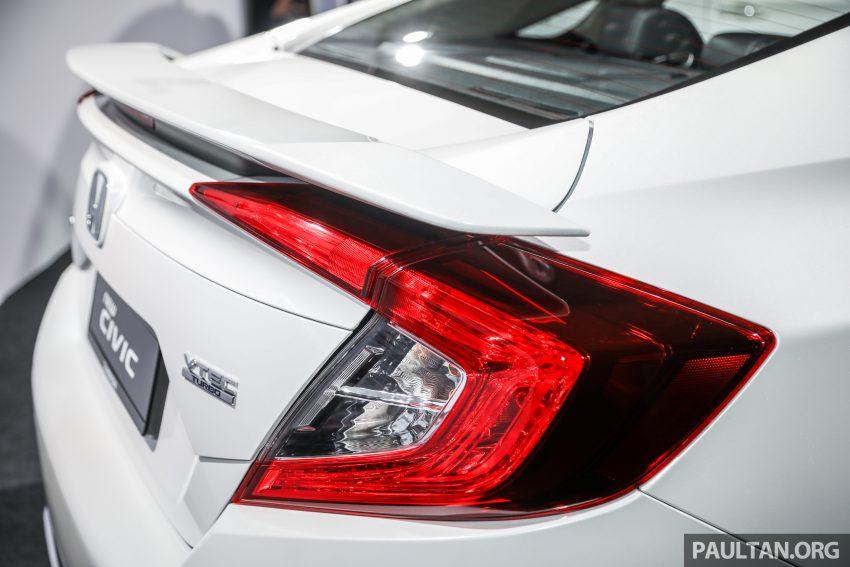十代 Honda Civic 小改款本地价格正式公布, 从11.4万起 Image #117272