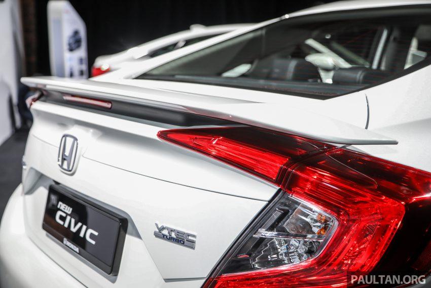 十代 Honda Civic 小改款本地价格正式公布, 从11.4万起 Image #117275
