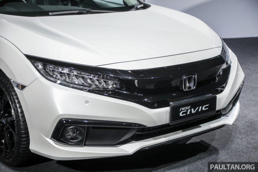 十代 Honda Civic 小改款本地价格正式公布, 从11.4万起 Image #117259