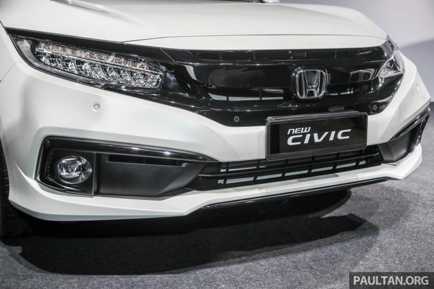 十代 Honda Civic 小改款本地价格正式公布, 从11.4万起 Image #117262