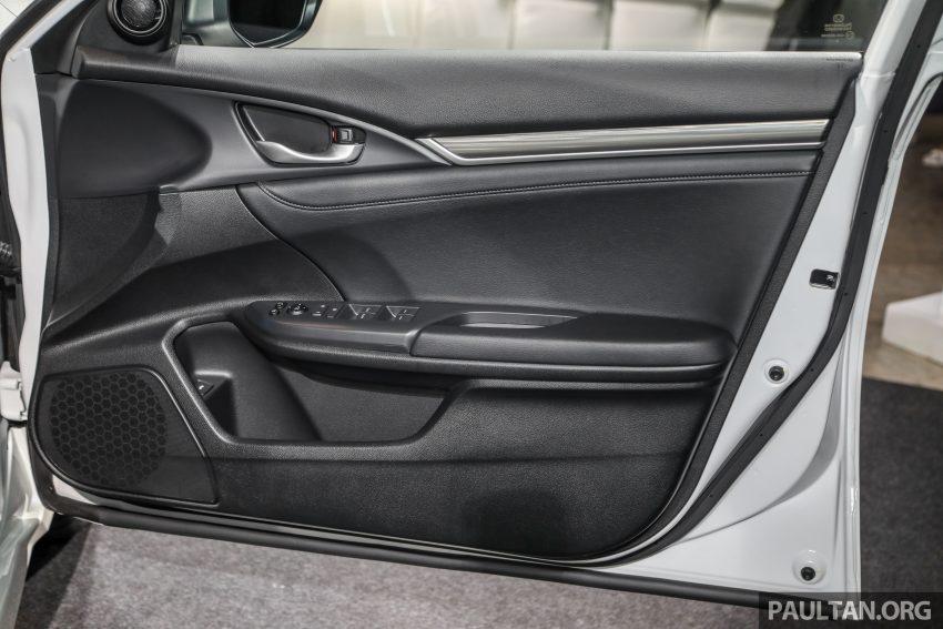 十代 Honda Civic 小改款本地价格正式公布, 从11.4万起 Image #117292
