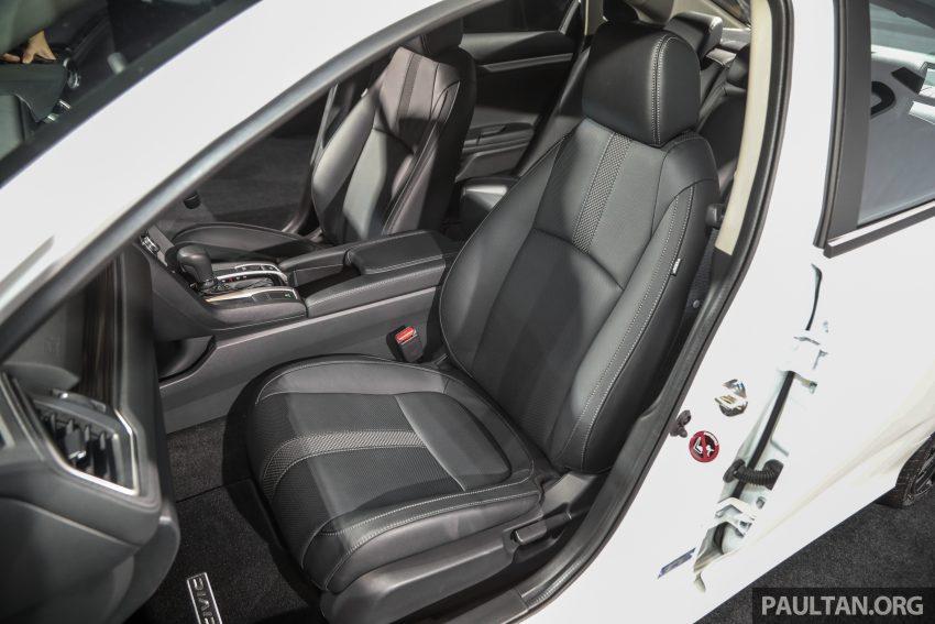 十代 Honda Civic 小改款本地价格正式公布, 从11.4万起 Image #117296