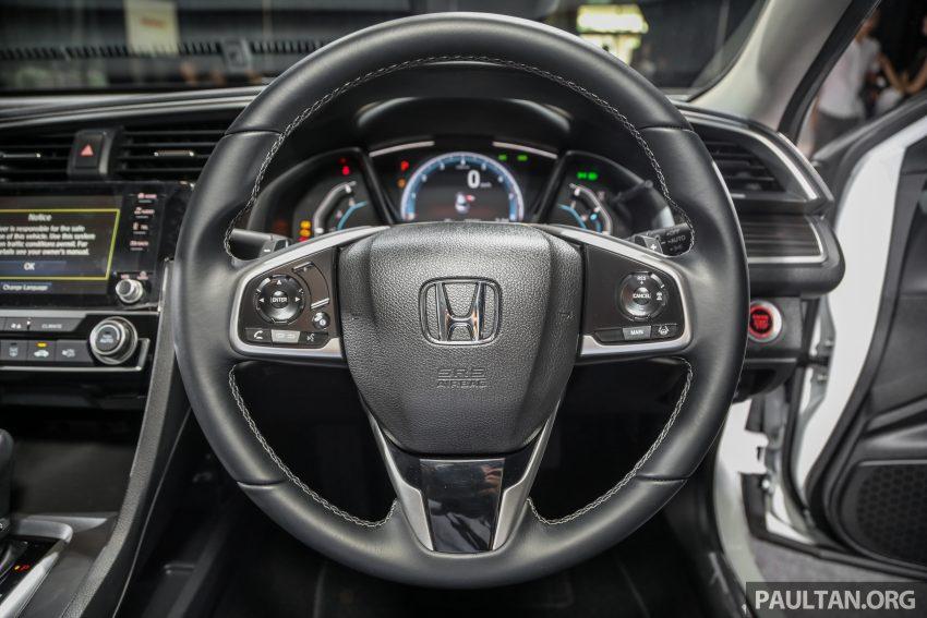 十代 Honda Civic 小改款本地价格正式公布, 从11.4万起 Image #117280