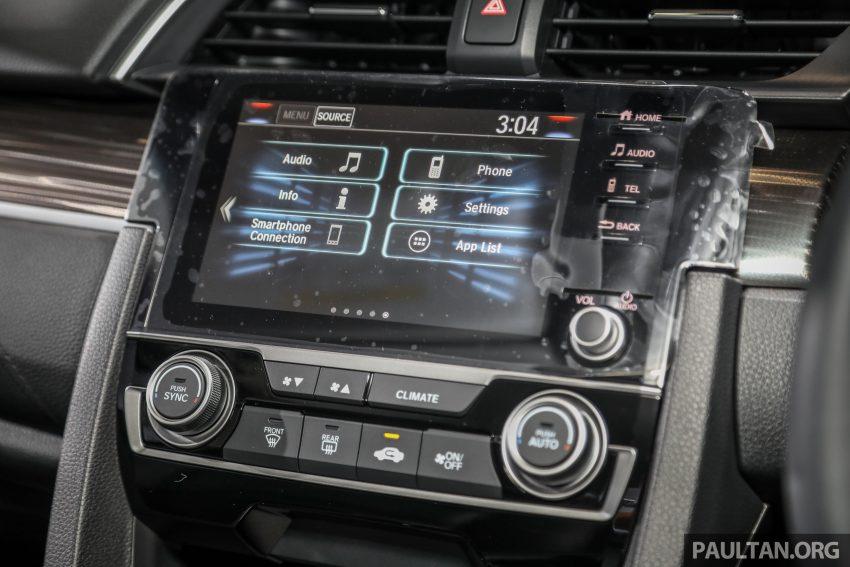 十代 Honda Civic 小改款本地价格正式公布, 从11.4万起 Image #117283