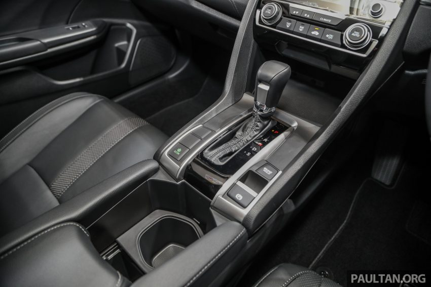 十代 Honda Civic 小改款本地价格正式公布, 从11.4万起 Image #117284