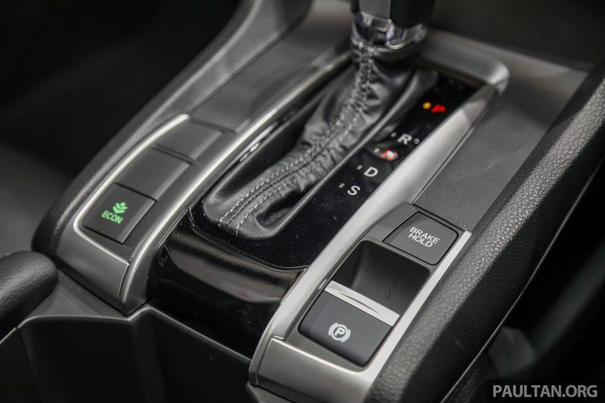 十代 Honda Civic 小改款本地价格正式公布, 从11.4万起 Image #117286