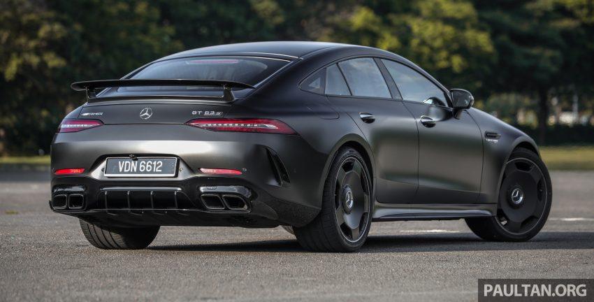 试驾:Mercedes-AMG GT 63 S,不负最强四门跑房之名 Image #117474