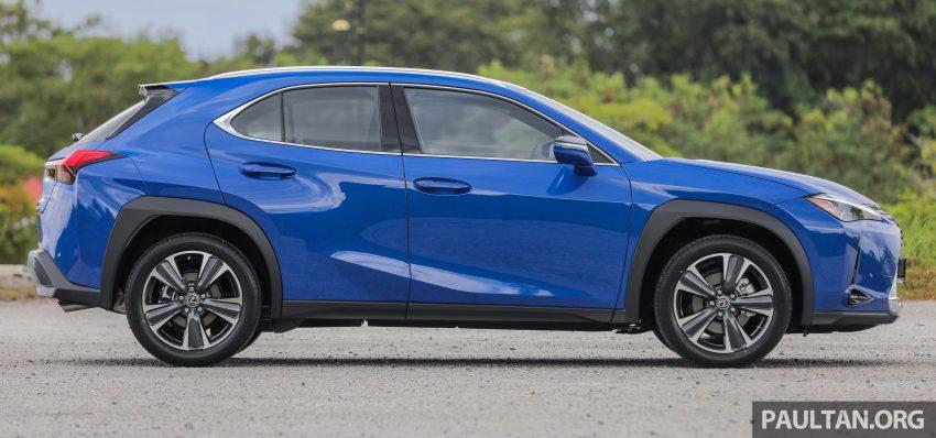 新车试驾: Lexus UX 200 Luxury, 适合都会女性的时尚选择 Image #126130