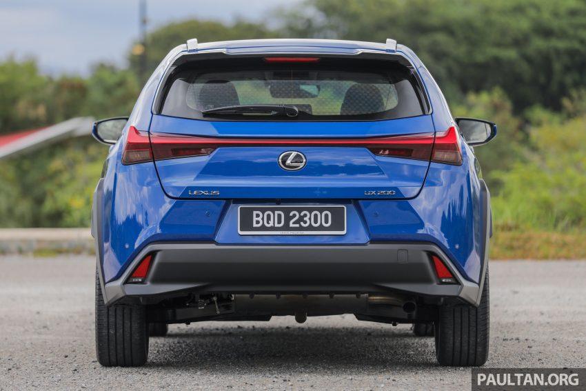 新车试驾: Lexus UX 200 Luxury, 适合都会女性的时尚选择 Image #126134