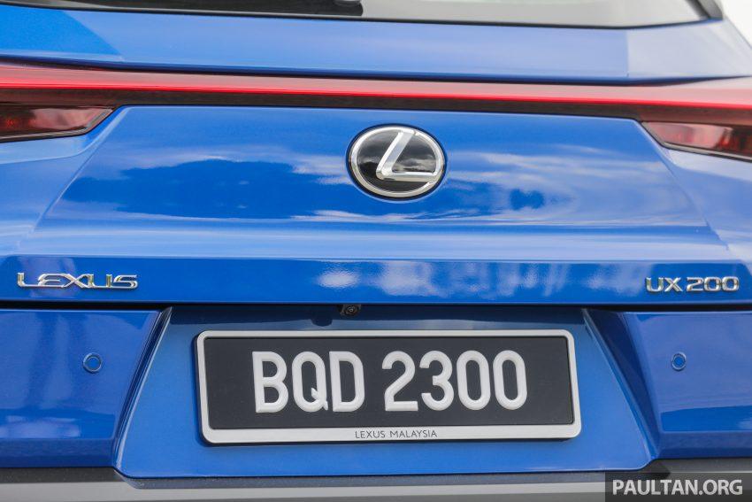 新车试驾: Lexus UX 200 Luxury, 适合都会女性的时尚选择 Image #126154