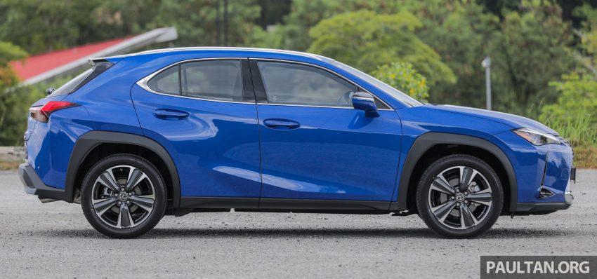 新车试驾: Lexus UX 200 Luxury, 适合都会女性的时尚选择 Image #126129