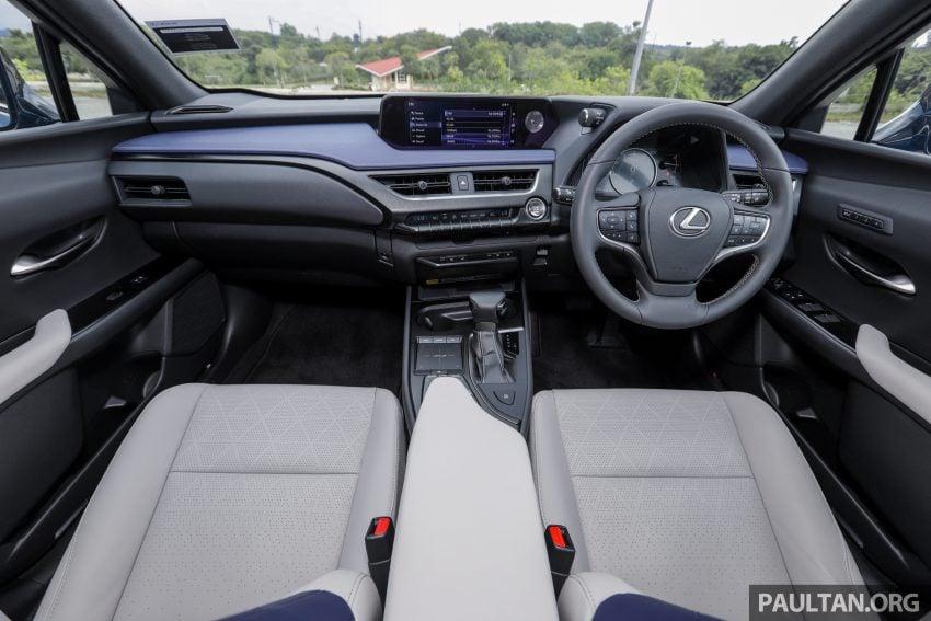 新车试驾: Lexus UX 200 Luxury, 适合都会女性的时尚选择 Image #126161