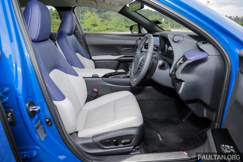 新车试驾: Lexus UX 200 Luxury, 适合都会女性的时尚选择 Image #126195