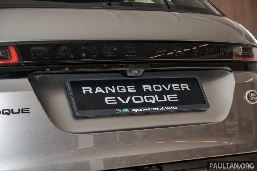 全新二代 Range Rover Evoque 本地上市,售RM427k起 Image #126516