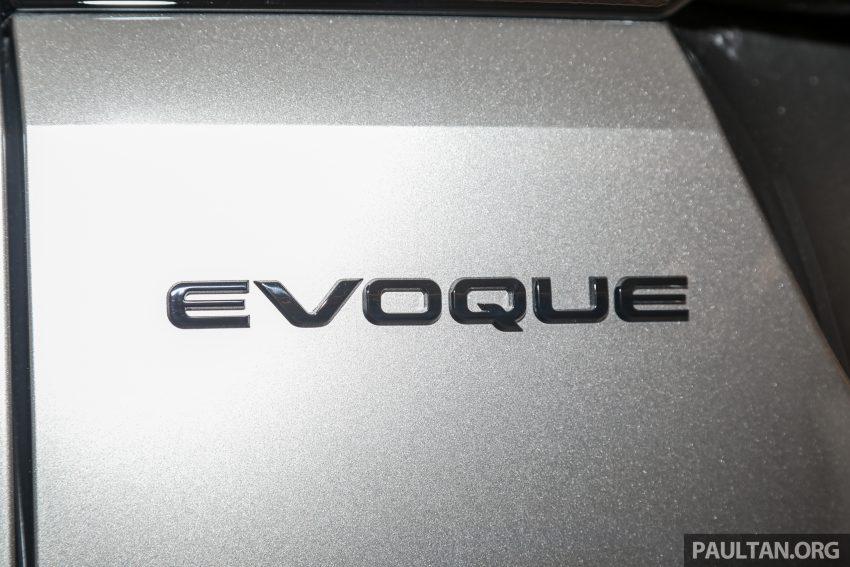 全新二代 Range Rover Evoque 本地上市,售RM427k起 Image #126519