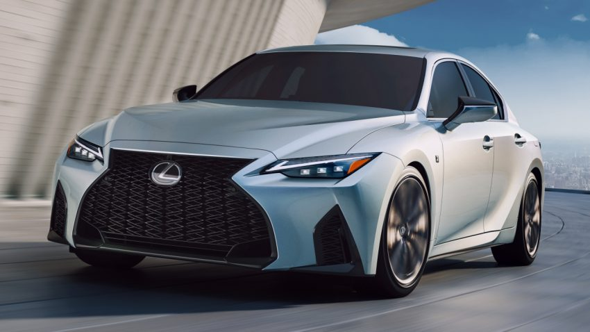 2021 Lexus IS 正式亮相!提供三种动力选项,外表更张扬 Image #124594