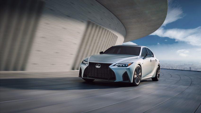 2021 Lexus IS 正式亮相!提供三种动力选项,外表更张扬 Image #124520