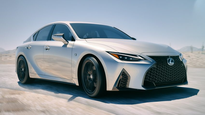 2021 Lexus IS 正式亮相!提供三种动力选项,外表更张扬 Image #124595