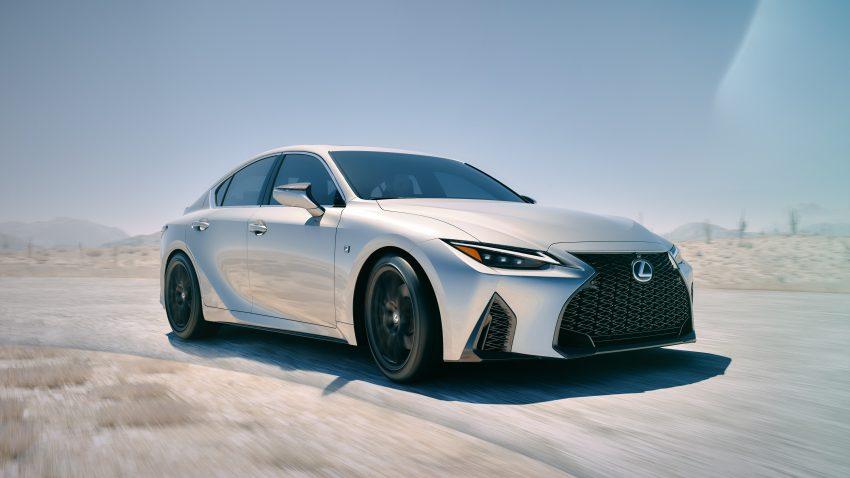 2021 Lexus IS 正式亮相!提供三种动力选项,外表更张扬 Image #124521
