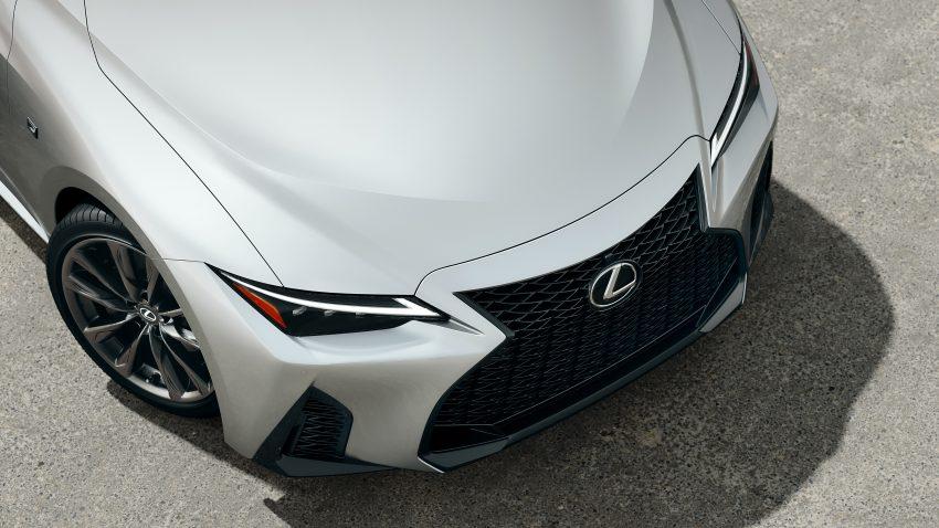 2021 Lexus IS 正式亮相!提供三种动力选项,外表更张扬 Image #124523