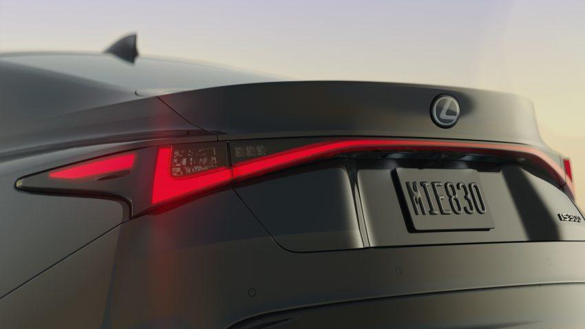 2021 Lexus IS 正式亮相!提供三种动力选项,外表更张扬 Image #124526