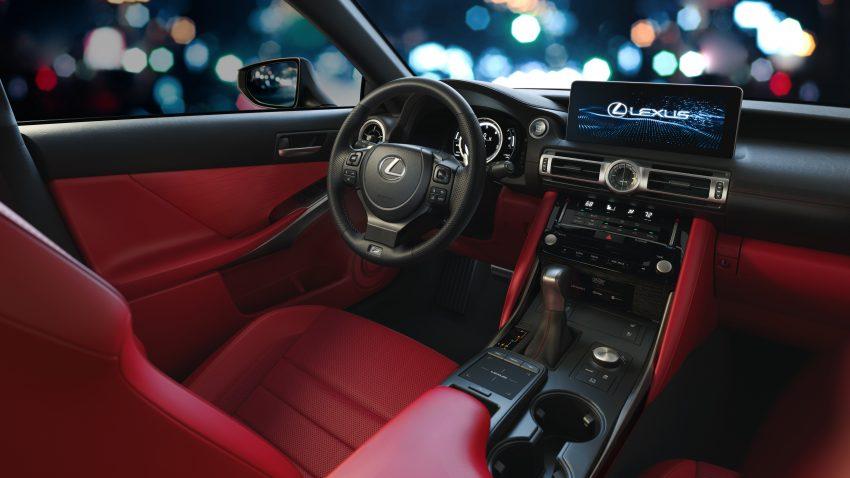 2021 Lexus IS 正式亮相!提供三种动力选项,外表更张扬 Image #124527