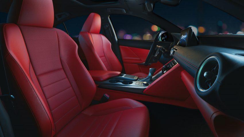 2021 Lexus IS 正式亮相!提供三种动力选项,外表更张扬 Image #124528