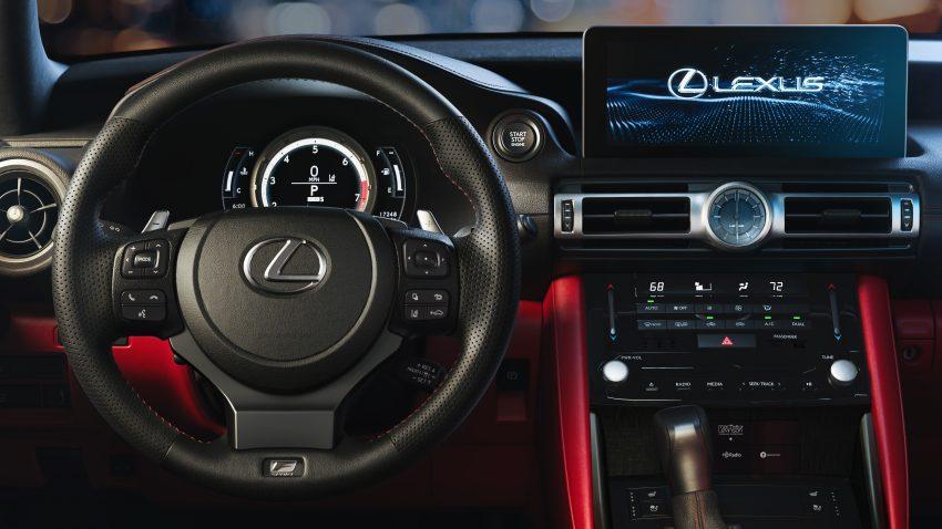 2021 Lexus IS 正式亮相!提供三种动力选项,外表更张扬 Image #124529