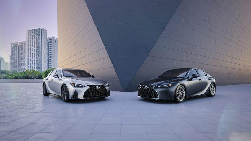 2021 Lexus IS 正式亮相!提供三种动力选项,外表更张扬 Image #124530