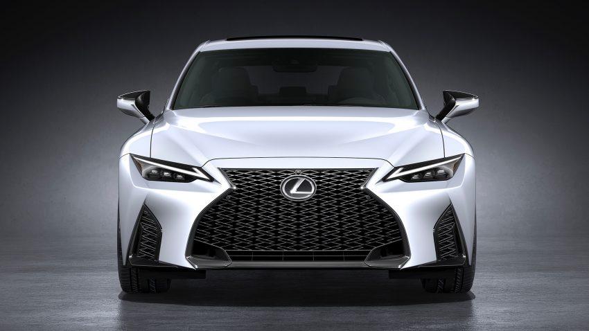 2021 Lexus IS 正式亮相!提供三种动力选项,外表更张扬 Image #124597