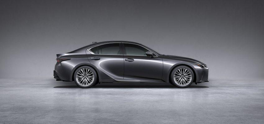 2021 Lexus IS 正式亮相!提供三种动力选项,外表更张扬 Image #124533