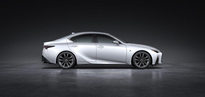 2021 Lexus IS 正式亮相!提供三种动力选项,外表更张扬 Image #124534