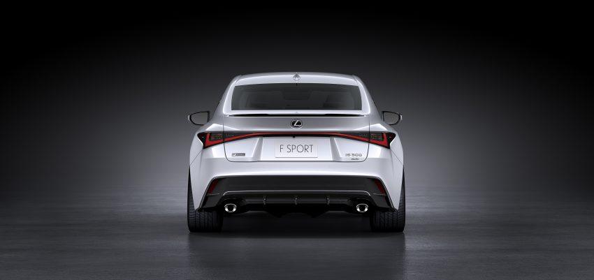 2021 Lexus IS 正式亮相!提供三种动力选项,外表更张扬 Image #124536