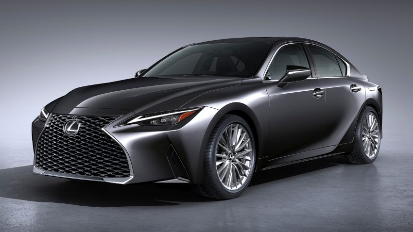 2021 Lexus IS 正式亮相!提供三种动力选项,外表更张扬 Image #124598