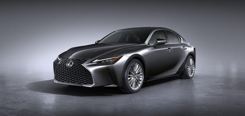 2021 Lexus IS 正式亮相!提供三种动力选项,外表更张扬 Image #124537