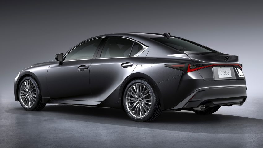 2021 Lexus IS 正式亮相!提供三种动力选项,外表更张扬 Image #124600