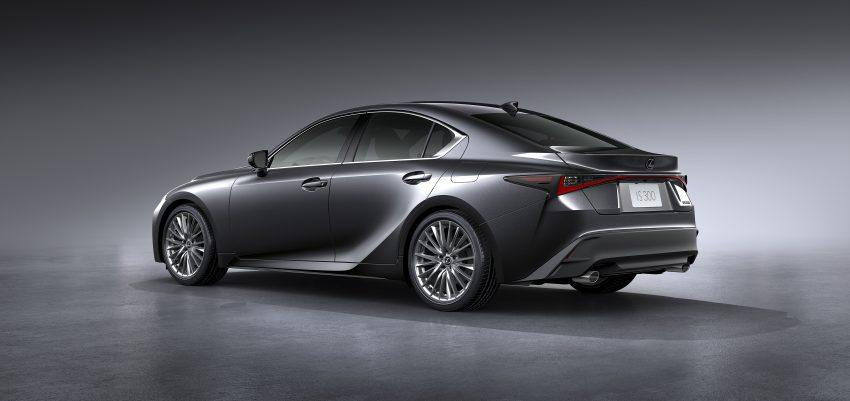 2021 Lexus IS 正式亮相!提供三种动力选项,外表更张扬 Image #124538