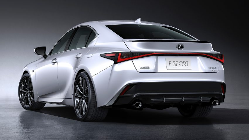 2021 Lexus IS 正式亮相!提供三种动力选项,外表更张扬 Image #124601