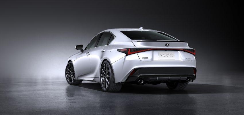 2021 Lexus IS 正式亮相!提供三种动力选项,外表更张扬 Image #124539