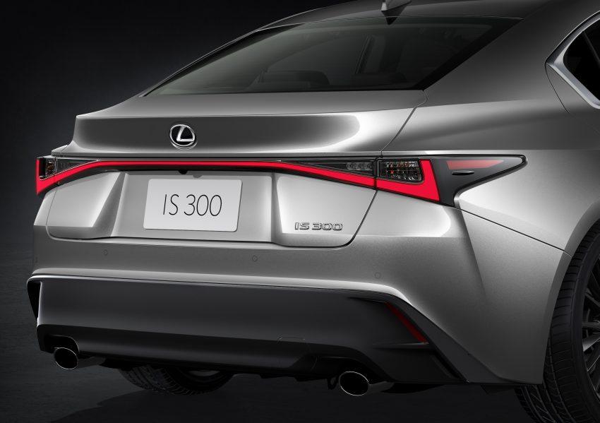 2021 Lexus IS 正式亮相!提供三种动力选项,外表更张扬 Image #124542
