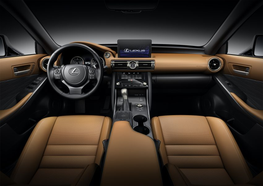 2021 Lexus IS 正式亮相!提供三种动力选项,外表更张扬 Image #124545